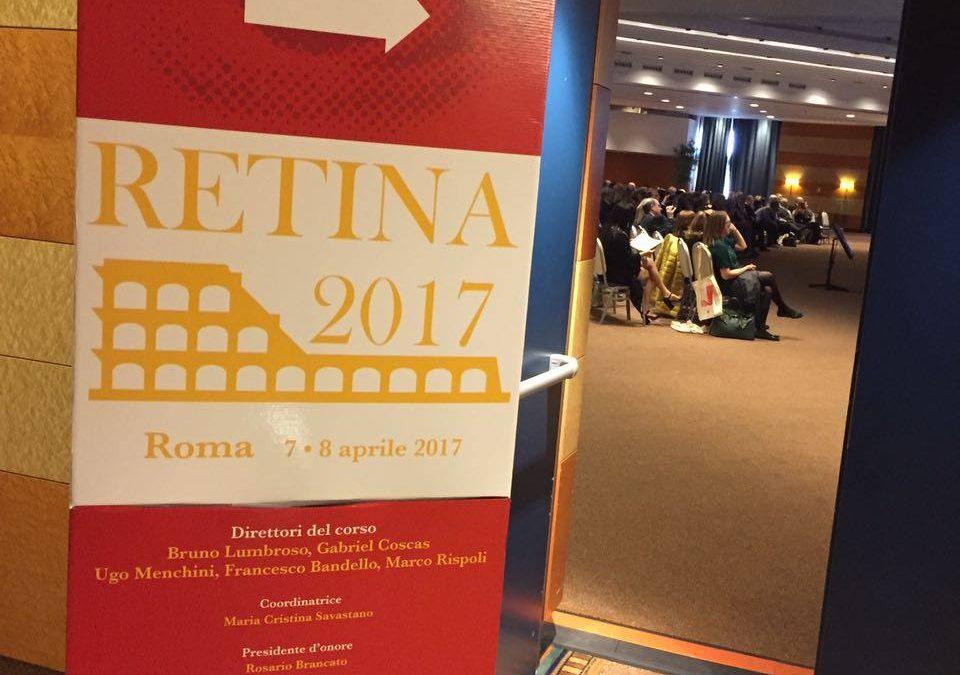 Gli specialisti di Abax al Congresso RETINA 2017