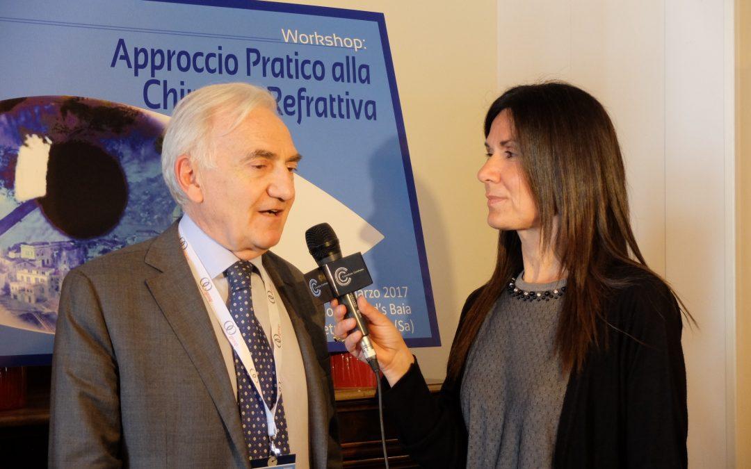 Oftalmologi del Centro Abax all'incontro nazionale sulle innovazioni della Chirurgia Refrattiva